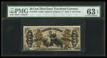 Fractional Currency:Third Issue, Fr. 1348 50¢ Third Issue Justice PMG Choice Uncirculated 63 EPQ.. ...