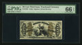 Fractional Currency:Third Issue, Fr. 1358 50¢ Third Issue Justice PMG Gem Uncirculated 66 EPQ.. ...
