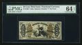 Fractional Currency:Third Issue, Fr. 1360 50¢ Third Issue Justice PMG Choice Uncirculated 64 EPQ.. ...