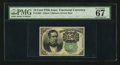 Fractional Currency:Fifth Issue, Fr. 1264 10¢ Fifth Issue PMG Superb Gem Unc 67 EPQ.. ...
