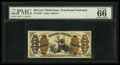 Fractional Currency:Third Issue, Fr. 1345 50¢ Third Issue Justice PMG Gem Uncirculated 66 EPQ.. ...