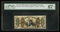 Fractional Currency:Third Issue, Fr. 1344 50¢ Third Issue Justice PMG Superb Gem Unc 67 EPQ.. ...