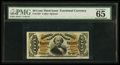 Fractional Currency:Third Issue, Fr. 1337 50¢ Third Issue Spinner PMG Gem Uncirculated 65 EPQ.. ...