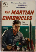 Books:Science Fiction & Fantasy, Ray Bradbury. INSCRIBED. The Martian Chronicles. Bantam Books, 1951. First paperback edition. Inscribed by Bra...