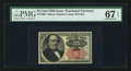 Fractional Currency:Fifth Issue, Fr. 1308 25¢ Fifth Issue PMG Superb Gem Unc 67 EPQ.. ...