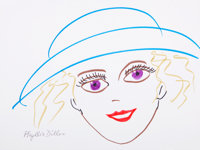 Phyllis Diller: Comedian's Doodle for Hunger Benefitting St. Francis Food Pantries And S