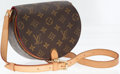 Luxury Accessories:Bags, Louis Vuitton Classic Monogram Canvas Sac Tambourine Shoulder Bag....