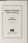 Books:Science Fiction & Fantasy, Ray Bradbury. SIGNED/LIMITED. Green Shadows, White Whale.Alfred A. Knopf, 1992. Limited to 50 hand-numbered c...