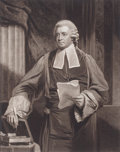 Prints, JOHN HOPPNER (British, 1758-1810). Sir Soulden Lawrence, Judgeof His Majesty's Court of King's Bench, 1803. Mezzotint b...