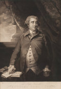 Prints, JOSHUA REYNOLDS (British, 1723-1792). Sir Charles James Fox, 1784. Mezzotint by John Jones (British, 1740-1797), publish...