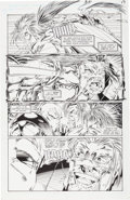 Original Comic Art:Panel Pages, Karl Altstaetter and Norm Rapmund Bloodstrike #14 Page 17 Original Art (Image, 1994)....