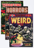 Golden Age (1938-1955):Horror, Star Publications Horror Comics Group (Star, 1952-53) Condition:Average VG-.... (Total: 3 Comic Books)