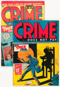 Golden Age (1938-1955):Crime, Crime Does Not Pay #42 and 54 Group (Lev Gleason, 1945-47).... (Total: 2 Comic Books)