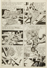 Jack Kirby and Joe Simon The Fly #1 Page 22 Original Art (Archie, 1959)