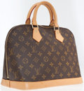 Luxury Accessories:Bags, Louis Vuitton Classic Monogram Canvas Alma Bag. ...