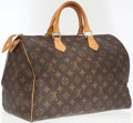 Luxury Accessories:Bags, Louis Vuitton Classic Monogram Canvas Speedy 35 Bag. ...