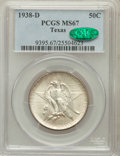 Commemorative Silver, 1938-D 50C Texas MS67 PCGS. CAC....