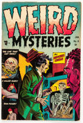 Golden Age (1938-1955):Horror, Weird Mysteries #8 (Gillmor, 1954) Condition: VG/FN....