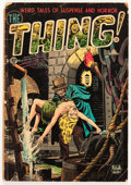 Golden Age (1938-1955):Horror, The Thing! #9 (Charlton, 1953) Condition: GD....