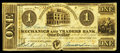 Obsoletes By State:Ohio, Cincinnati, OH- Mechanics and Traders Bank $1 Dec. 26, 1839 Wolka0551-02. ...