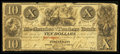 Obsoletes By State:Ohio, Cincinnati, OH- Mechanics and Traders Bank $10 Dec. 2, 1839 G10Wolka 0551-09. ...