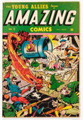 Golden Age (1938-1955):Superhero, Amazing Comics #1 (Timely, 1944) Condition: Apparent VG....