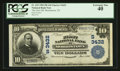 National Bank Notes:Tennessee, Morristown, TN - $10 1902 Plain Back Fr. 625 The First NB Ch. #(S)3432. ...