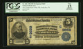 National Bank Notes:Tennessee, Nashville, TN - $5 1902 Plain Back Fr. 601 The Cumberland Valley NBCh. # (S)9659. ...
