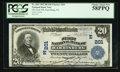National Bank Notes:Pennsylvania, Harrisburg, PA - $20 1902 Plain Back Fr. 650 The First NB Ch. #(E)201. ...