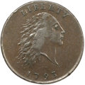 Large Cents, 1793 Chain 1C AMERICA AU55 PCGS Secure. S-2, B-2, High R.4....