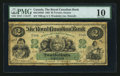 Canadian Currency: , Toronto, ON- The Royal Canadian Bank $2 July 26, 1865 Ch #635-12-02-02. ...