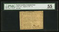 Colonial Notes:North Carolina, North Carolina August 8, 1778 $1 PMG About Uncirculated 55.. ...