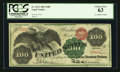 Large Size:Legal Tender Notes, Fr. 167a $100 1863 Legal Tender PCGS Choice New 63.. ...