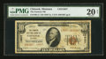 National Bank Notes:Montana, Chinook, MT - $10 1929 Ty. 2 The Farmers NB Ch. # 13837. ...
