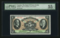 Canadian Currency: , Halifax, NS- The Bank of Nova Scotia $5 Jan. 2, 1935 Ch # 550-36-02. ...