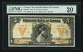 Canadian Currency: , Toronto, ON- The Standard Bank of Canada $5 Jan. 2, 1919 Ch #695-18-12. ...