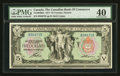Canadian Currency: , Toronto, ON- The Canadian Bank of Commerce $5 Jan. 2, 1917 Ch # 75-16-04-06a. ...