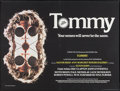 "Movie Posters:Rock and Roll, Tommy (Hemdale Film, 1975). British Quad (30"" X 40""). Rock andRoll.. ..."