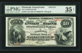 National Bank Notes:Pennsylvania, Pittsburgh, PA - $10 1875 Fr. 420 The Commercial NB Ch. # 2711. ...