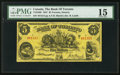 Canadian Currency: , Toronto, ON - The Bank of Toronto $5 Jan. 2, 1937 Ch. # 715-24-06. ...