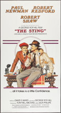 "Movie Posters:Crime, The Sting (Universal, 1973). International Three Sheet (41"" X 77"").Crime.. ..."