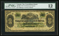 Canadian Currency: , Montreal, PQ - The Consolidated Bank $10 July 1, 1876 Ch. # 205-10-06. ...
