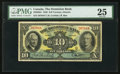 Canadian Currency: , Toronto, ON - The Dominion Bank $10 Jan. 3, 1938 Ch. # 220-28-04....