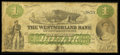 Canadian Currency: , Moncton, NB - The Westmoreland Bank $1 Aug. 1, 1861 Ch. # 800-12-02. ...