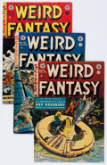 Golden Age (1938-1955):Science Fiction, Weird Fantasy #18, 19, and 22 Group (EC, 1953).... (Total: 3 ComicBooks)