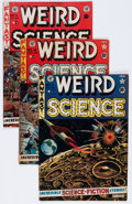 Golden Age (1938-1955):Science Fiction, Weird Science #11-15 Group (EC, 1952) Condition: Average VG....(Total: 5 Comic Books)