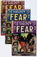Golden Age (1938-1955):Horror, Haunt of Fear Group (EC, 1952-54).... (Total: 6 Comic Books)