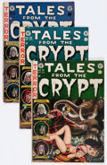 Golden Age (1938-1955):Horror, Tales From the Crypt Group (EC, 1952-54).... (Total: 5 Comic Books)
