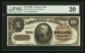 Large Size:Treasury Notes, Fr. 366 $10 1890 Treasury Note PMG Very Fine 20.. ...