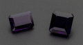 Estate Jewelry:Unmounted Gemstones, Two Purple Amethyst Unmounted Gemstones. ... (Total: 2 Items)